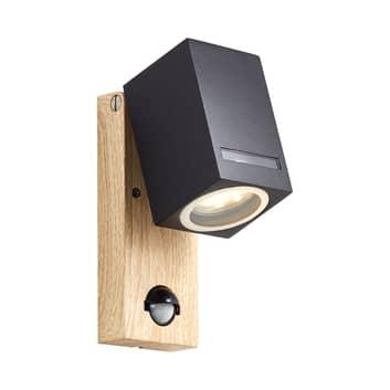 Buitenwandlamp Galeni met sensor