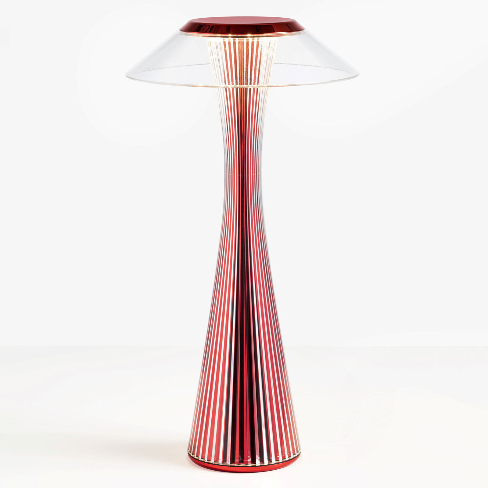 Kartell Space LED-Tischleuchte rot Limited Edition
