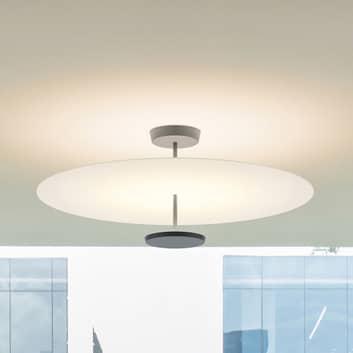 Vibia Flat -LED-kattolamppu, 2-lamppuinen DALI dim