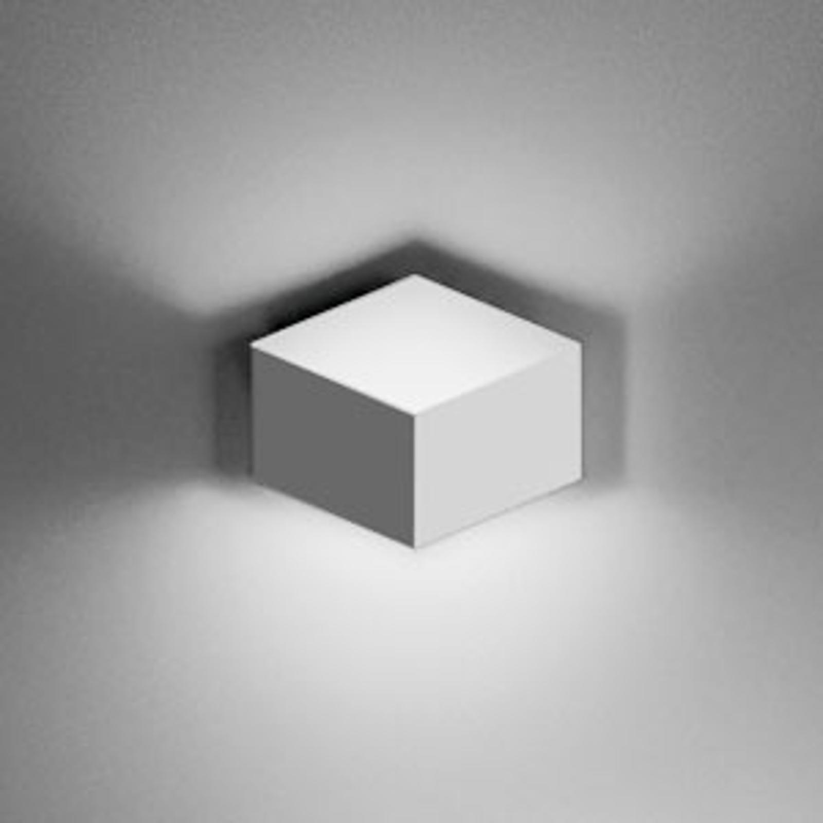 Puristische led wandlamp Fold Surface, 2-fl.