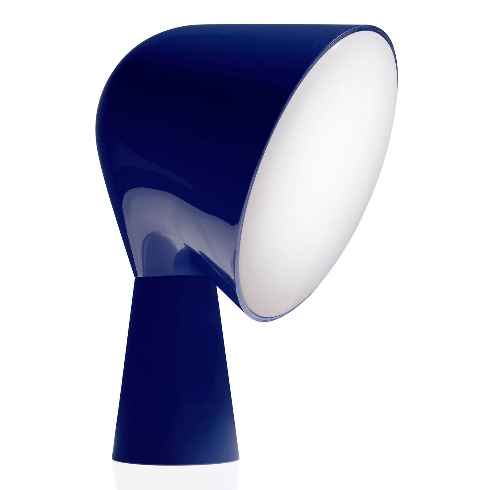 Foscarini Binic Designer-Tischleuchte, blau