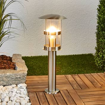 Noemi - lampada di acciaio da esterni
