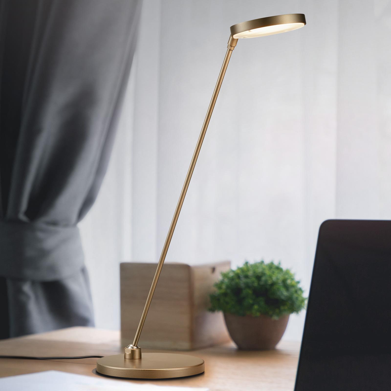 Lampe à poser LED Thea-T, bronze