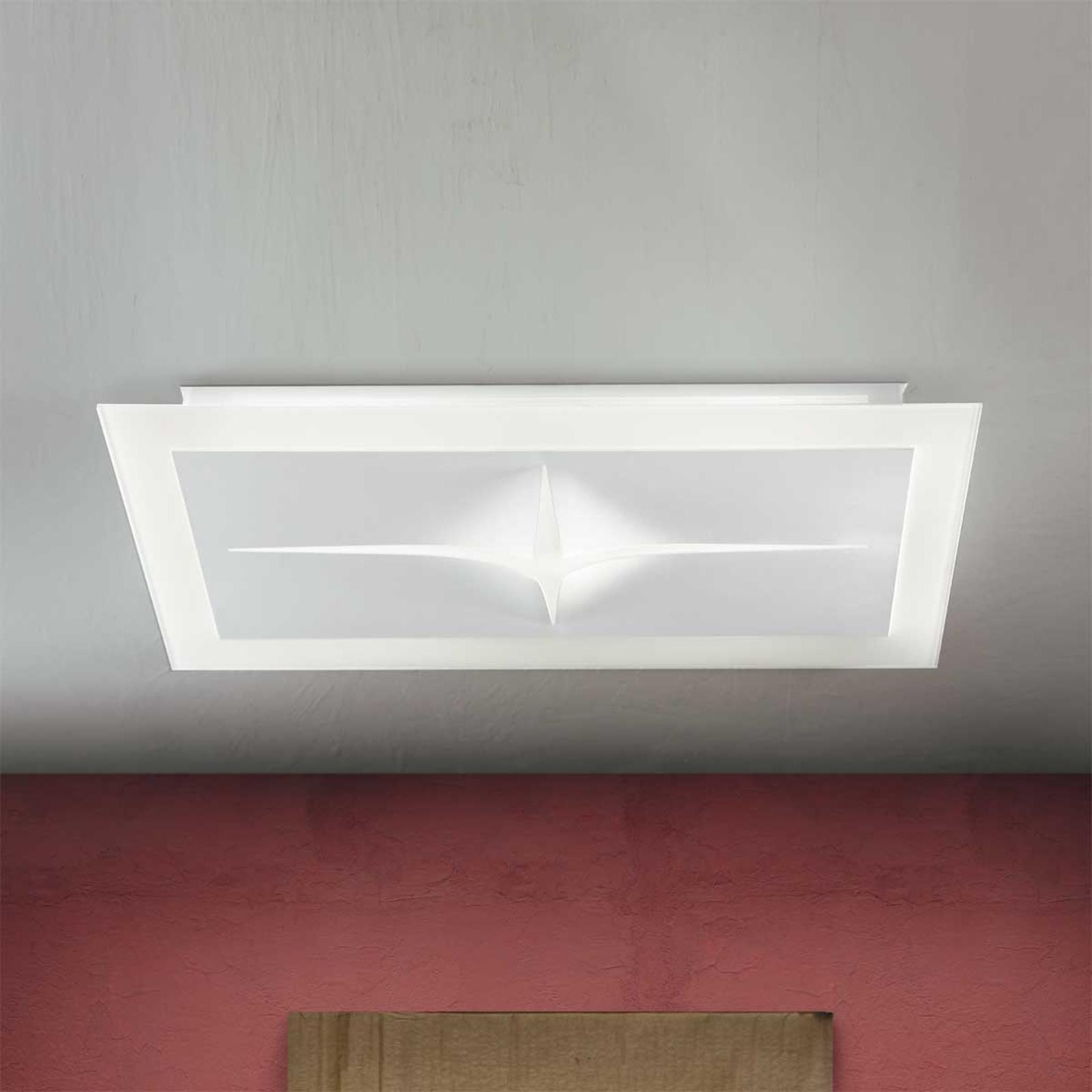 Kreatywna lampa sufitowa CROSS 8195 E27 72 cm