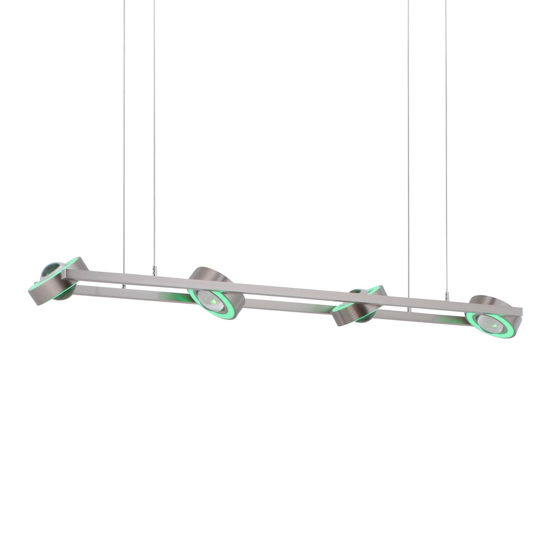 Paul Neuhaus Q-MIA LED-Hängeleuchte, stahl