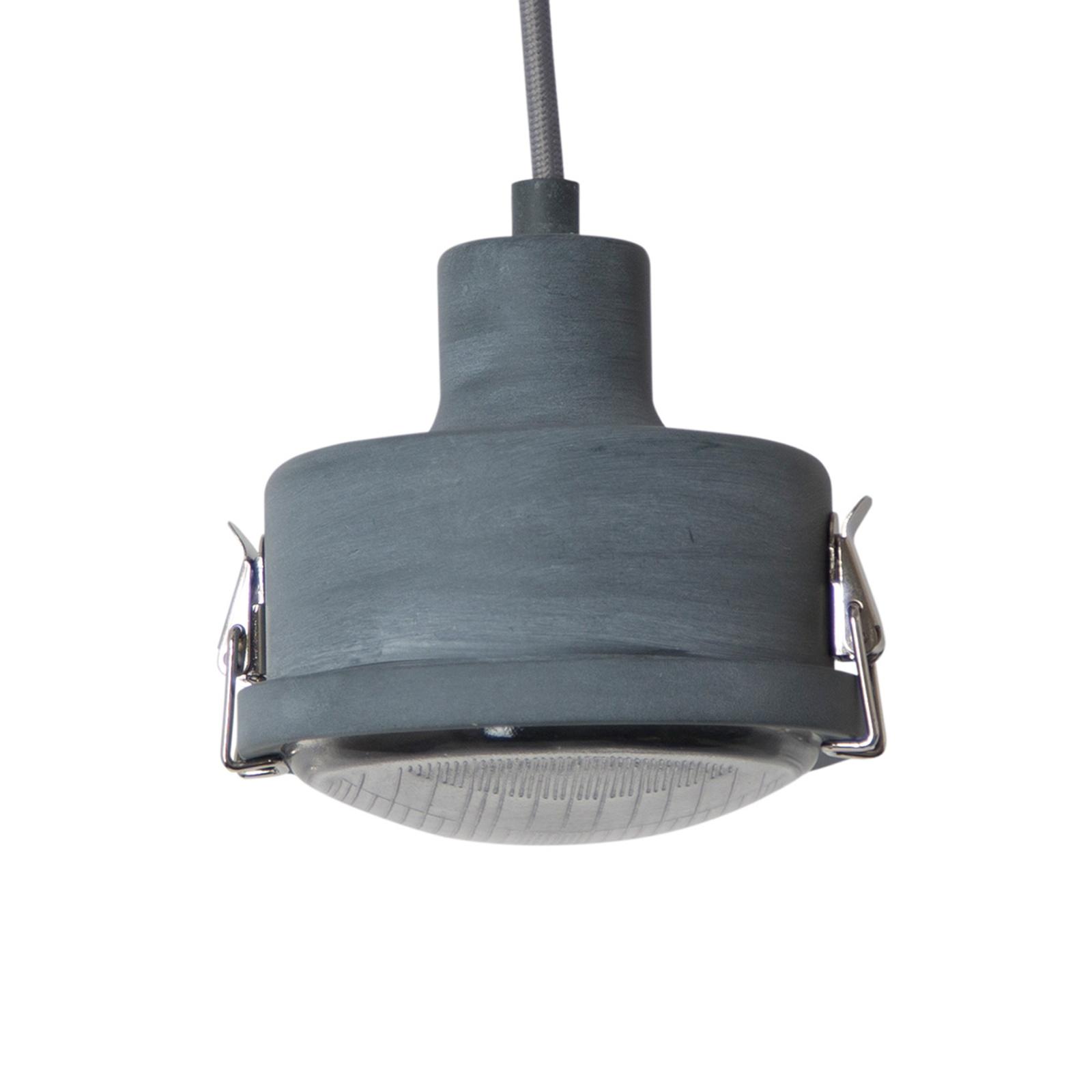 Moderne hanglamp Satellite in grijs