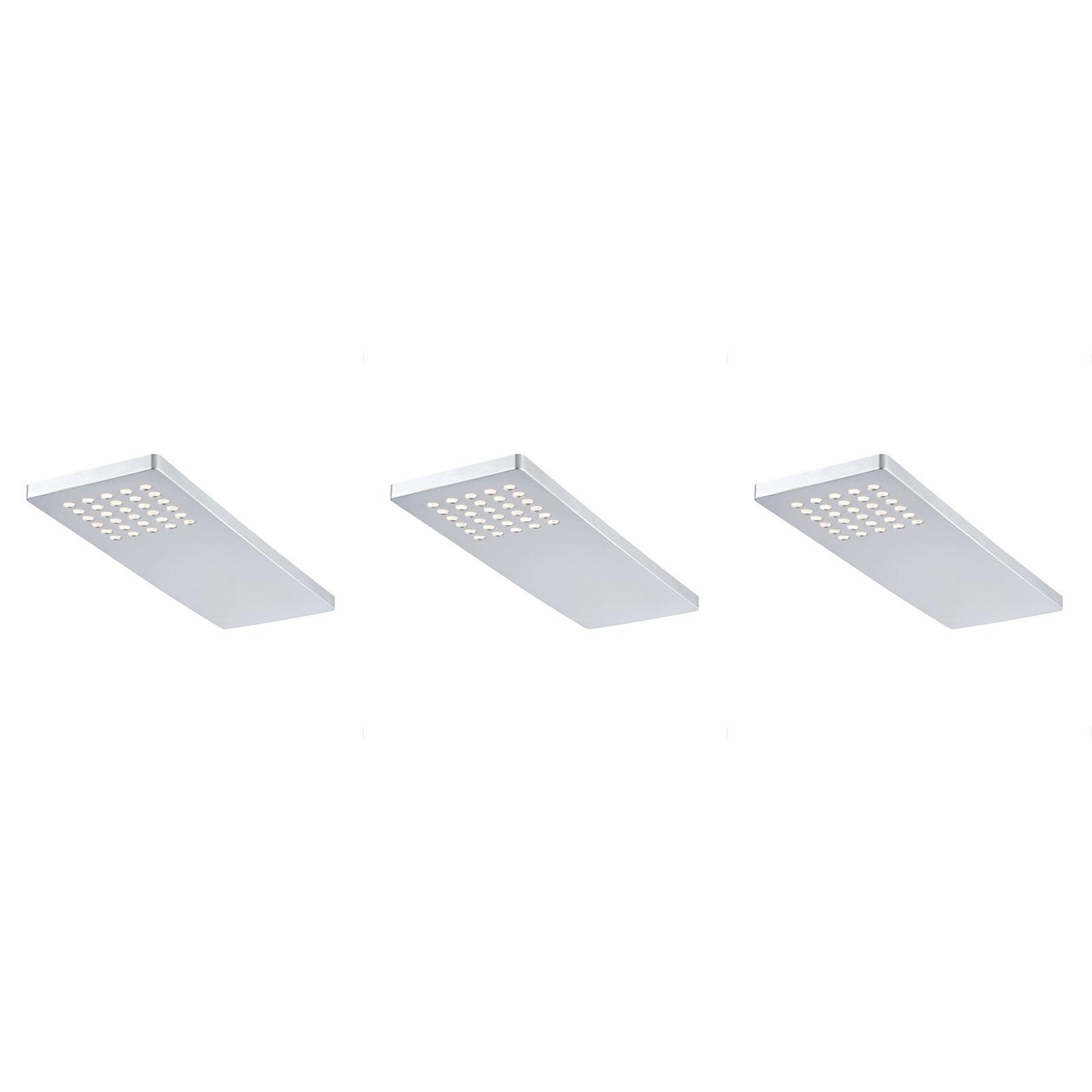 Paulmann Pattern lampada LED da mobili, set da 3