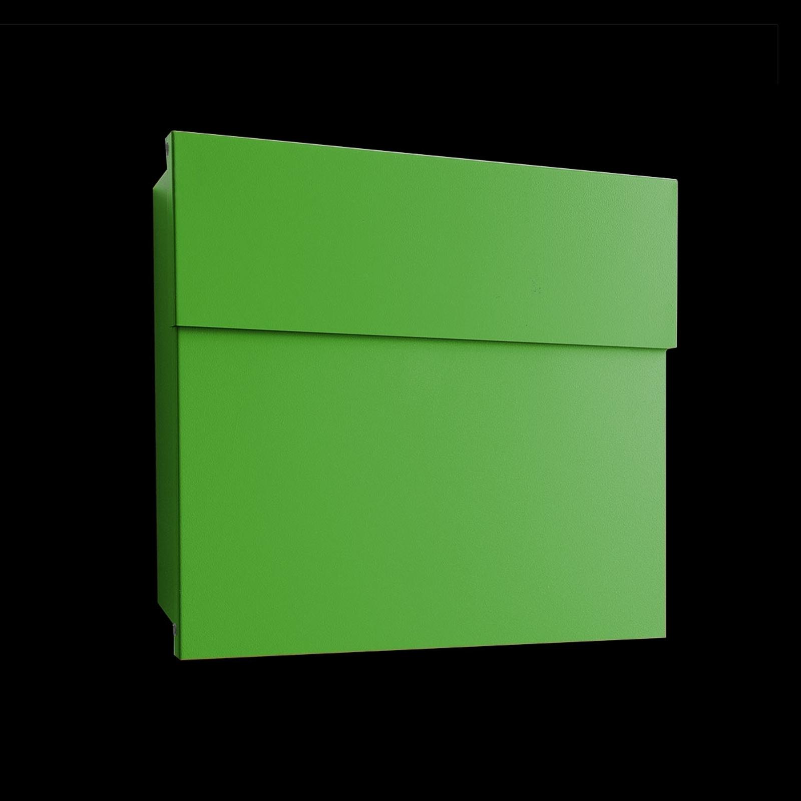 Praktisk postkasse Letterman IV, grønn