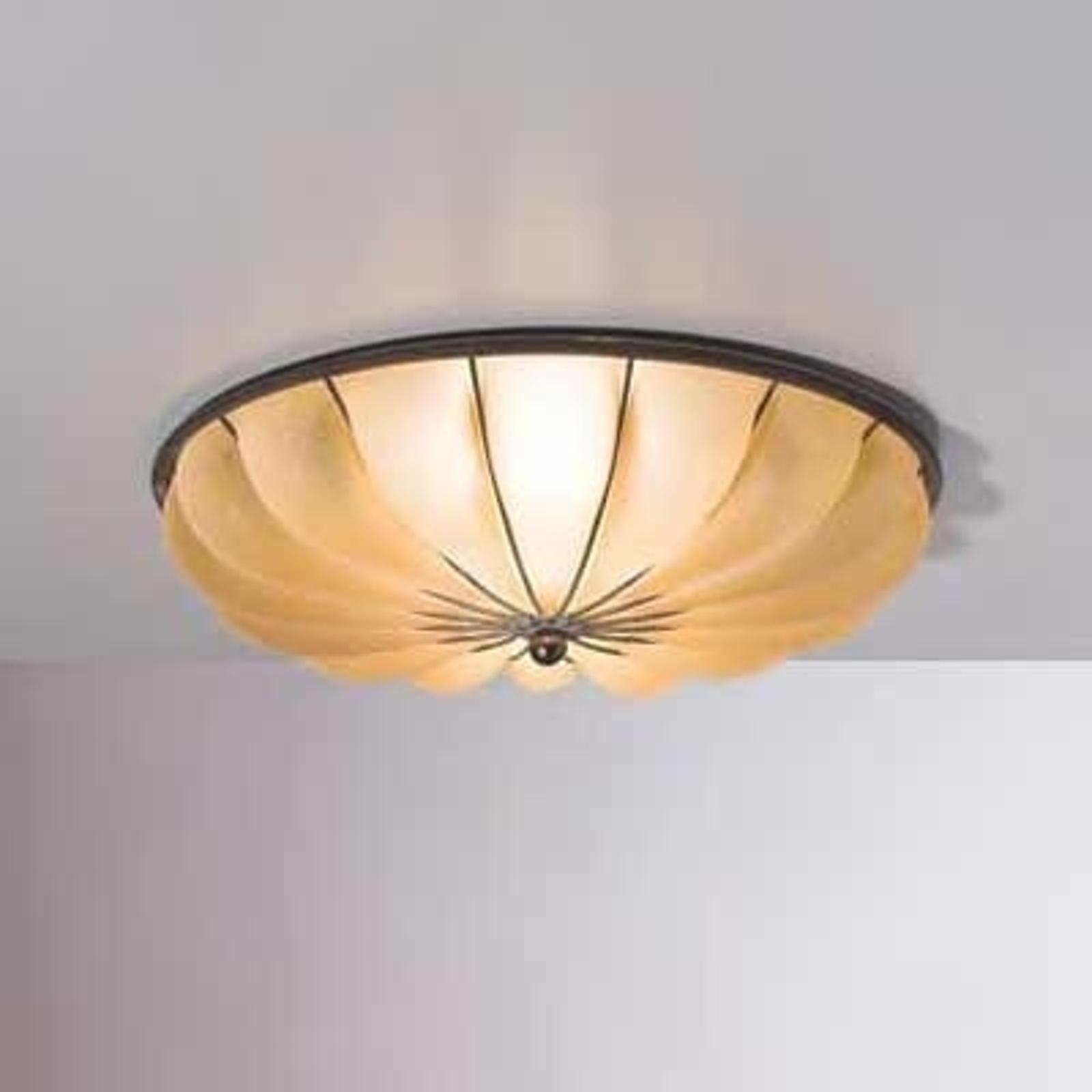 Halfronde plafondlamp RAGGIO, 33 cm