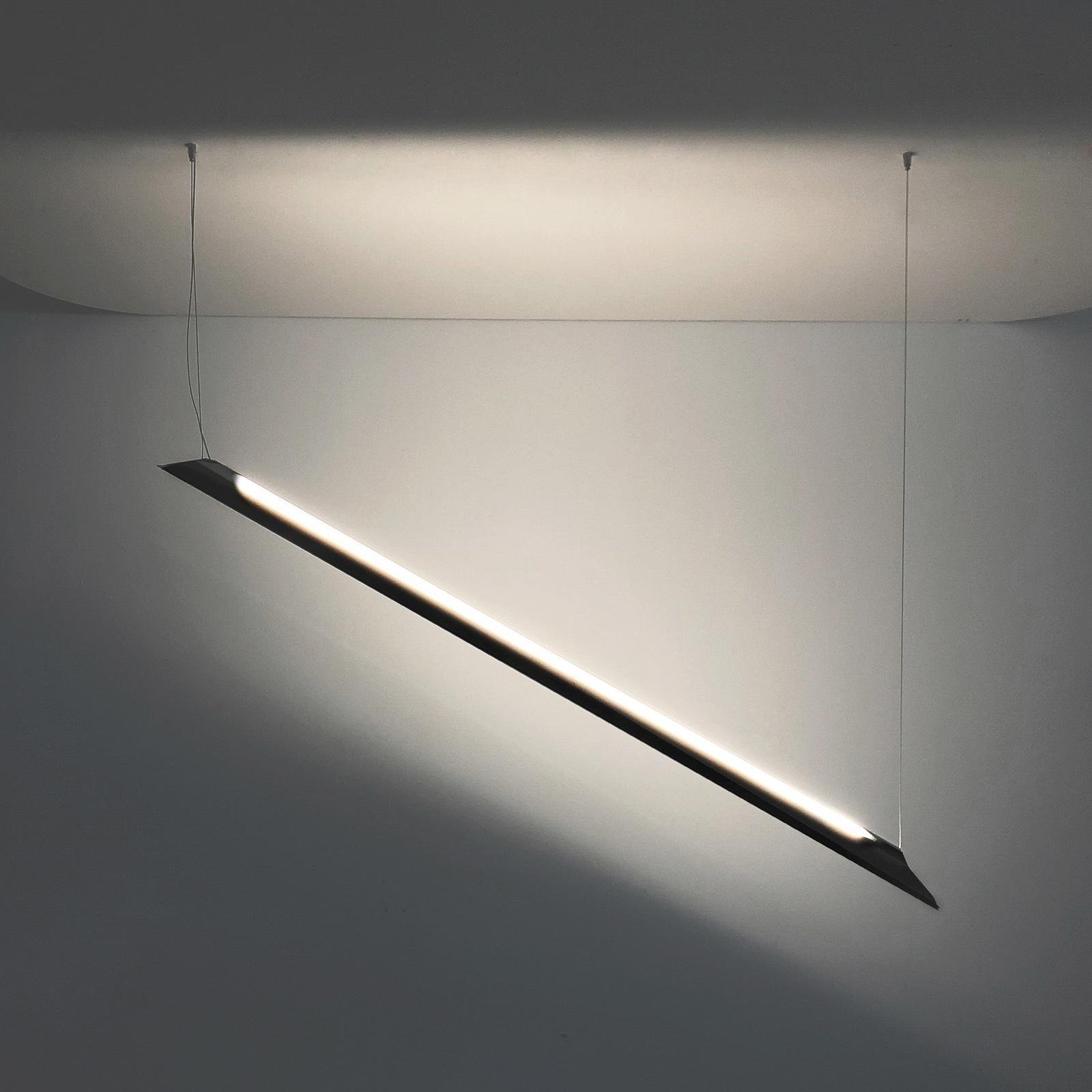 Knikerboker Schegge LED-Hängeleuchte 2-fl. schwarz