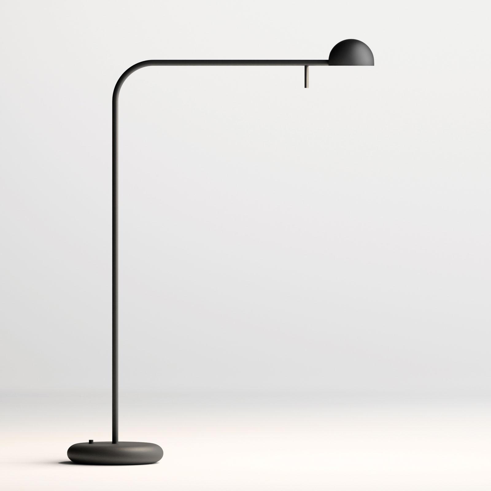 Vibia Pin 1655 LED tafellamp, lengte 40cm, zwart