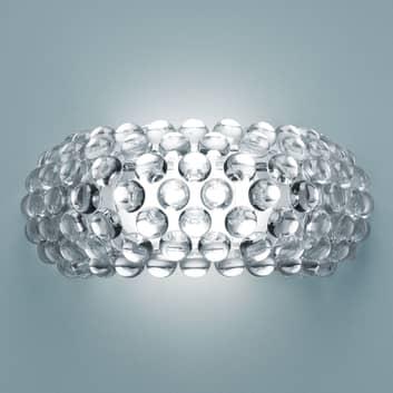 Foscarini MyLight Caboche media LED, läpinäkyvä