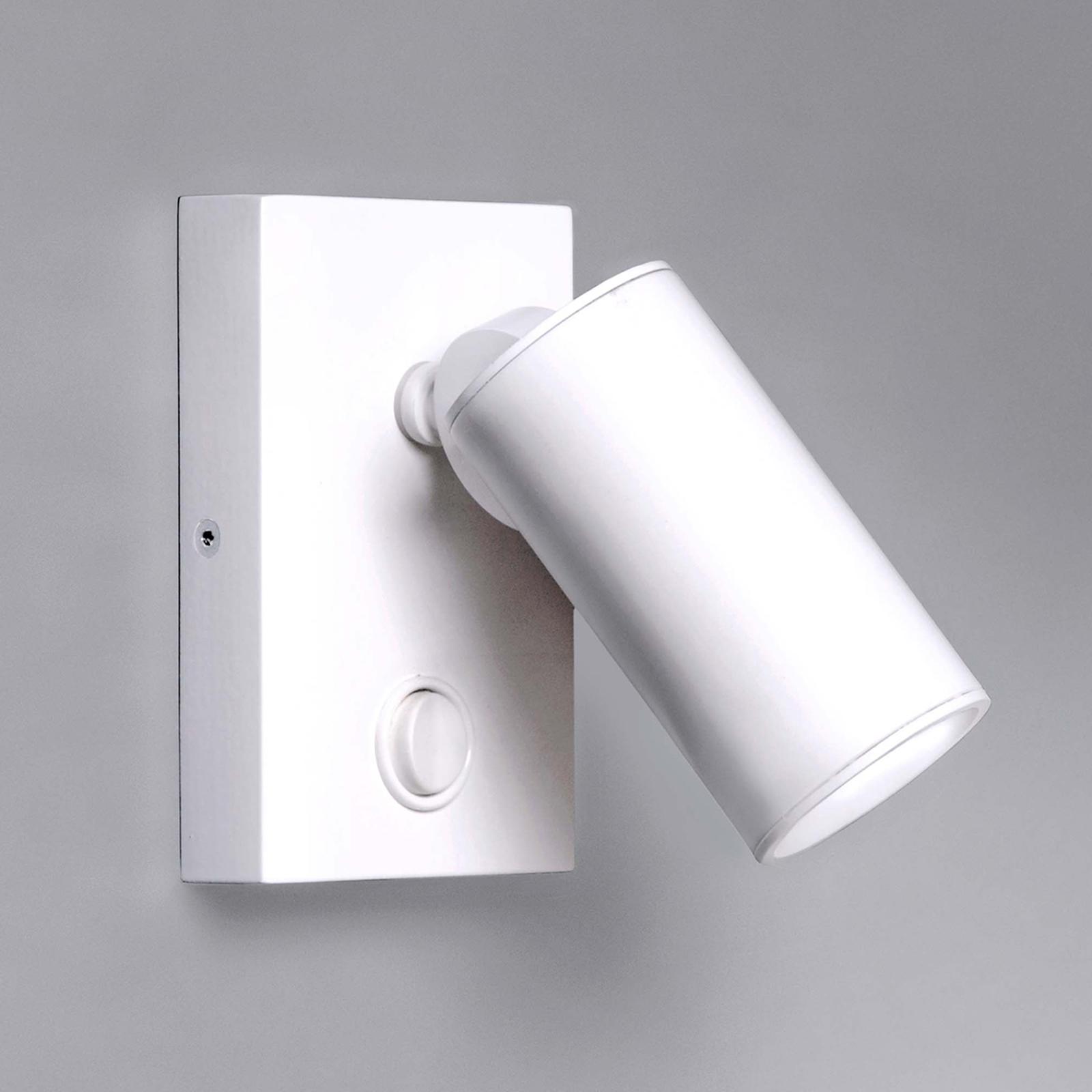 Milan Tub - applique LED à 1 lampe, blanc