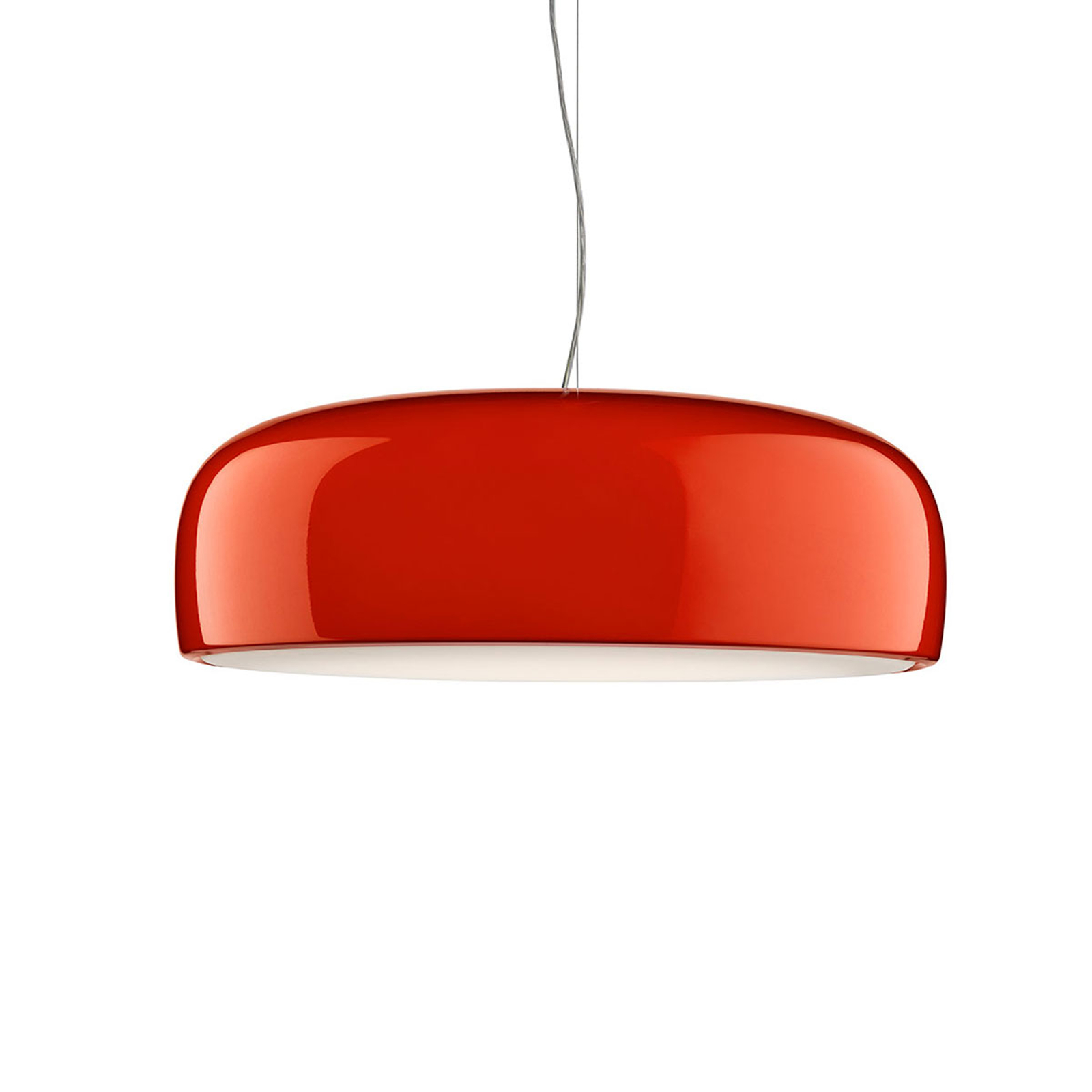 FLOS Smithfield S Pro DALI LED-Hängeleuchte, rot