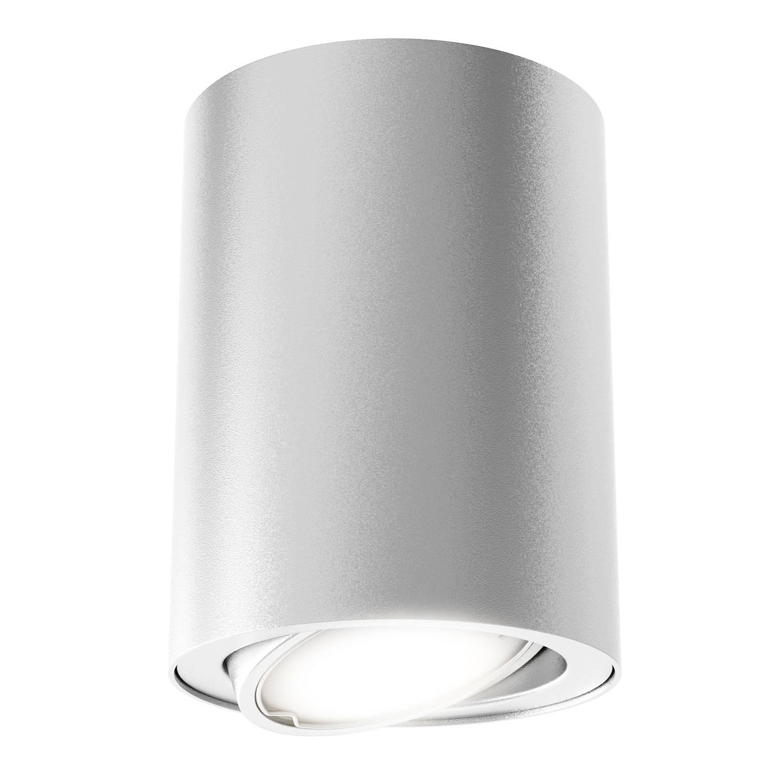 LED plafondlamp 7119 met GU10 LED, zilver