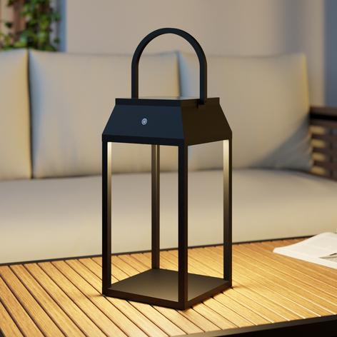 Lucande Maleos lanterna solare LED, dimmerabile