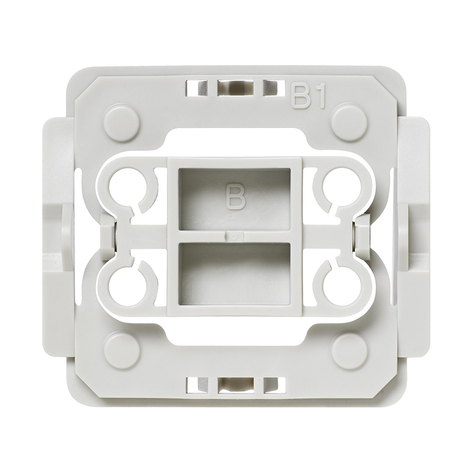 Homematic IP adaptador interruptor Berker B1 1x