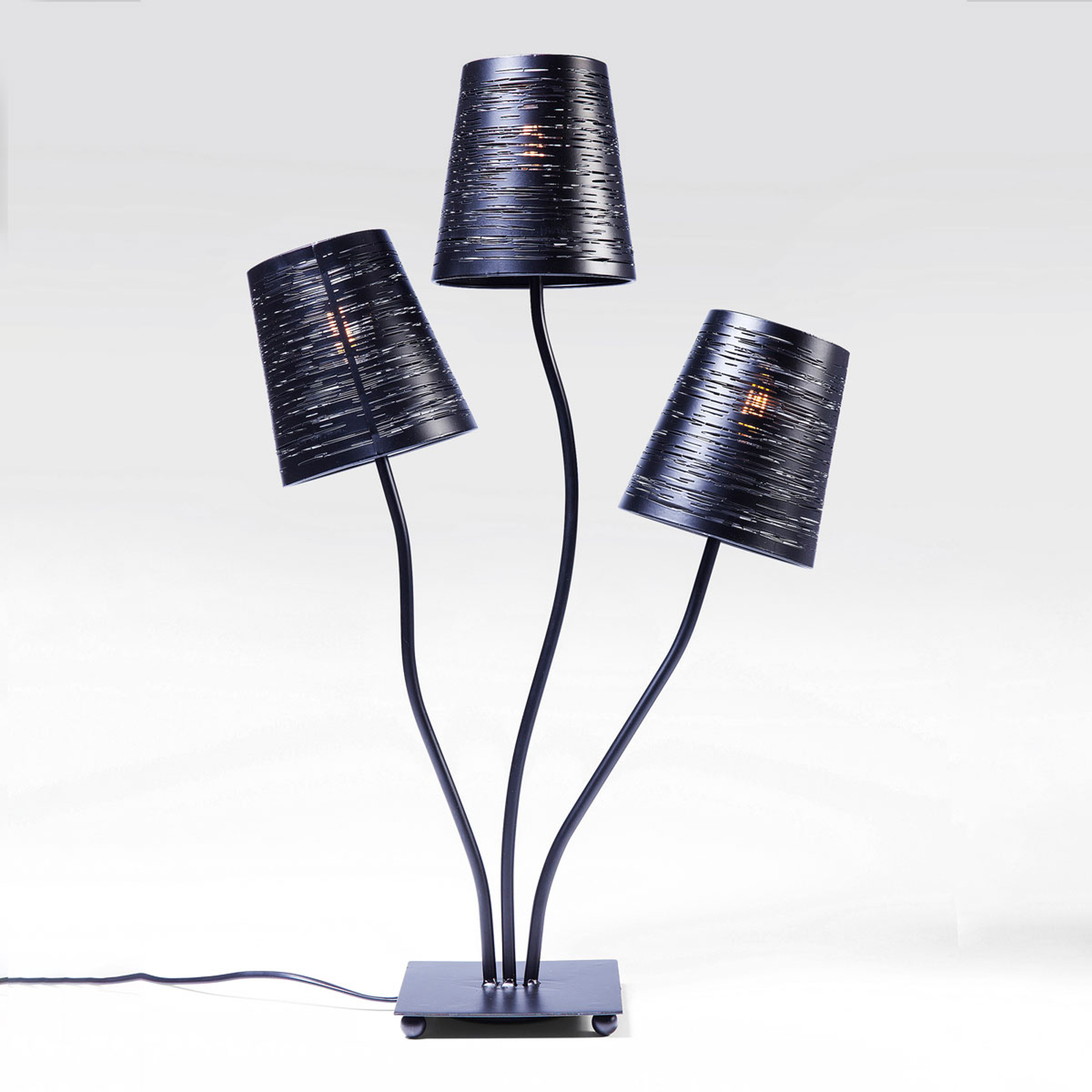 KARE Flexible Schwarz Tre lampe à poser
