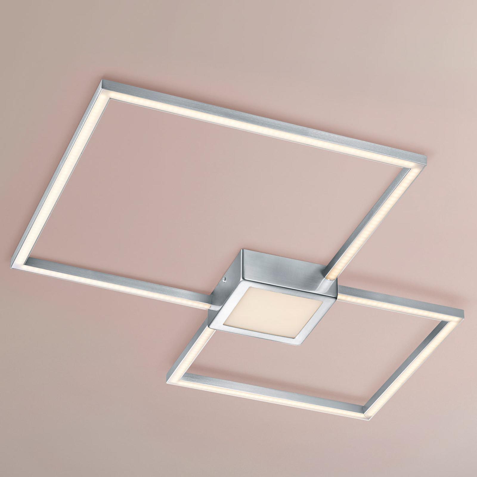 Lampa sufitowa LED Hydra – przełącznik ścienny