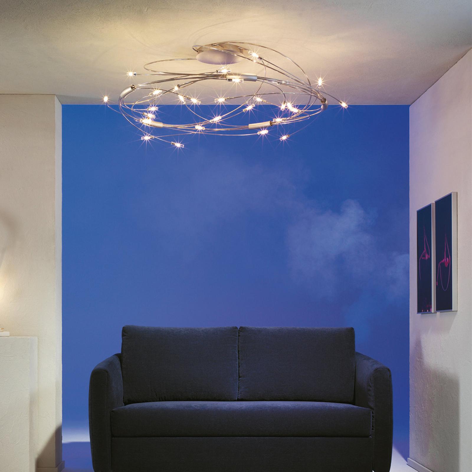 Plafonnier Spin à 30 lampes