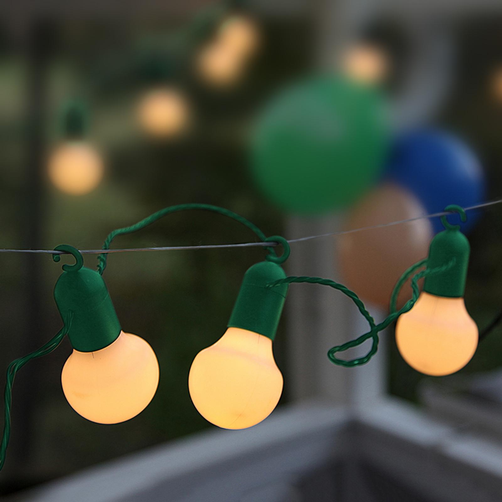 Cadenas de luces LED festiva ELIN con 20 luces