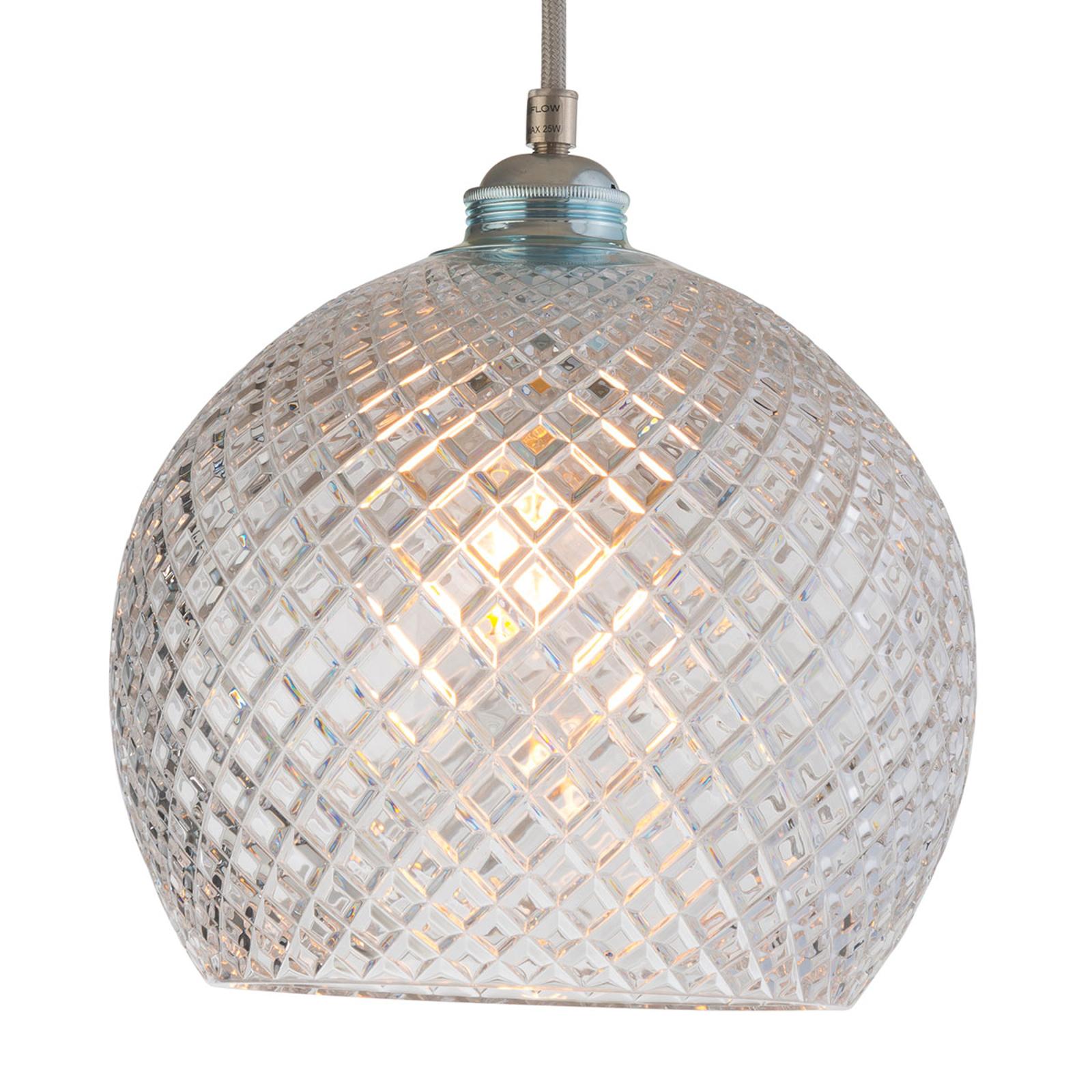 EBB & FLOW Rowan hanglamp, zilver Ø 22cm