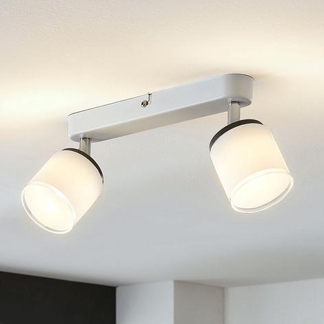 Faretto da soffitto LED Futura a 2 luci