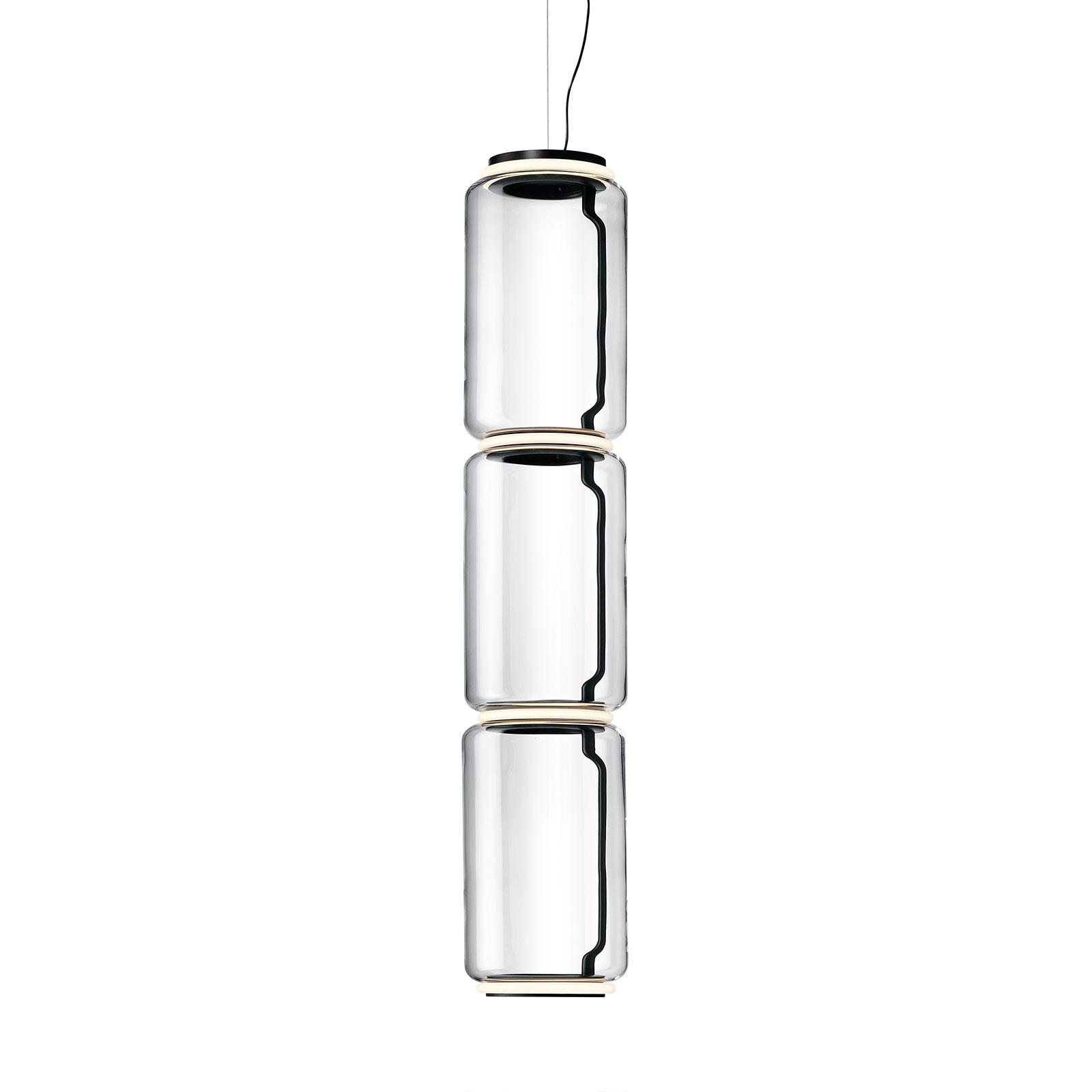 FLOS Noctambule LED-hengelampe 3 Low Cylinders