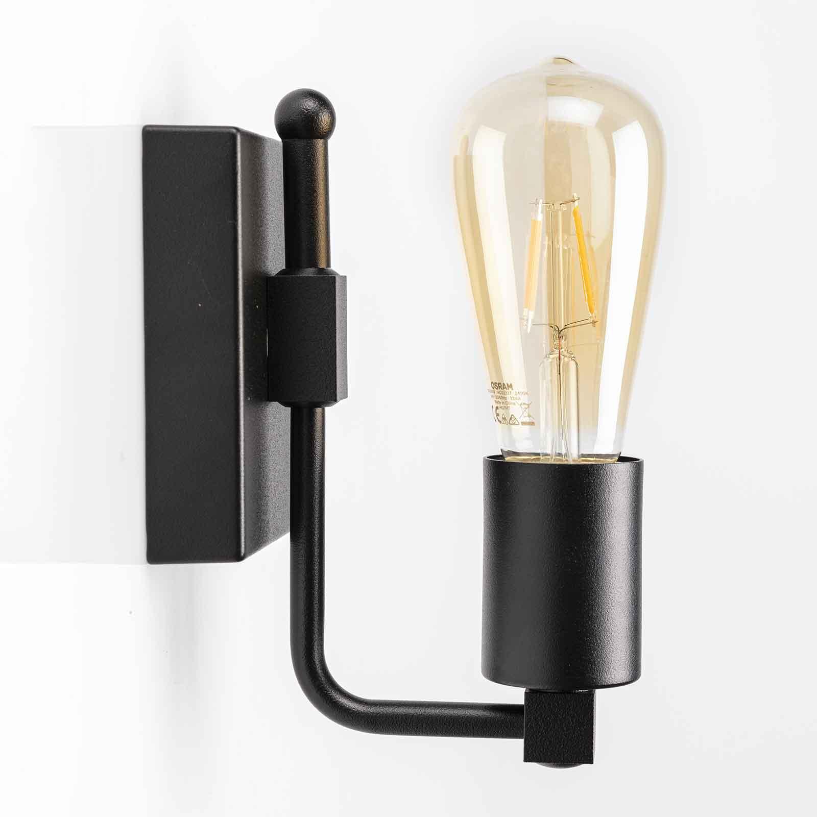 Wandlamp Cubic³ 3392 zwart