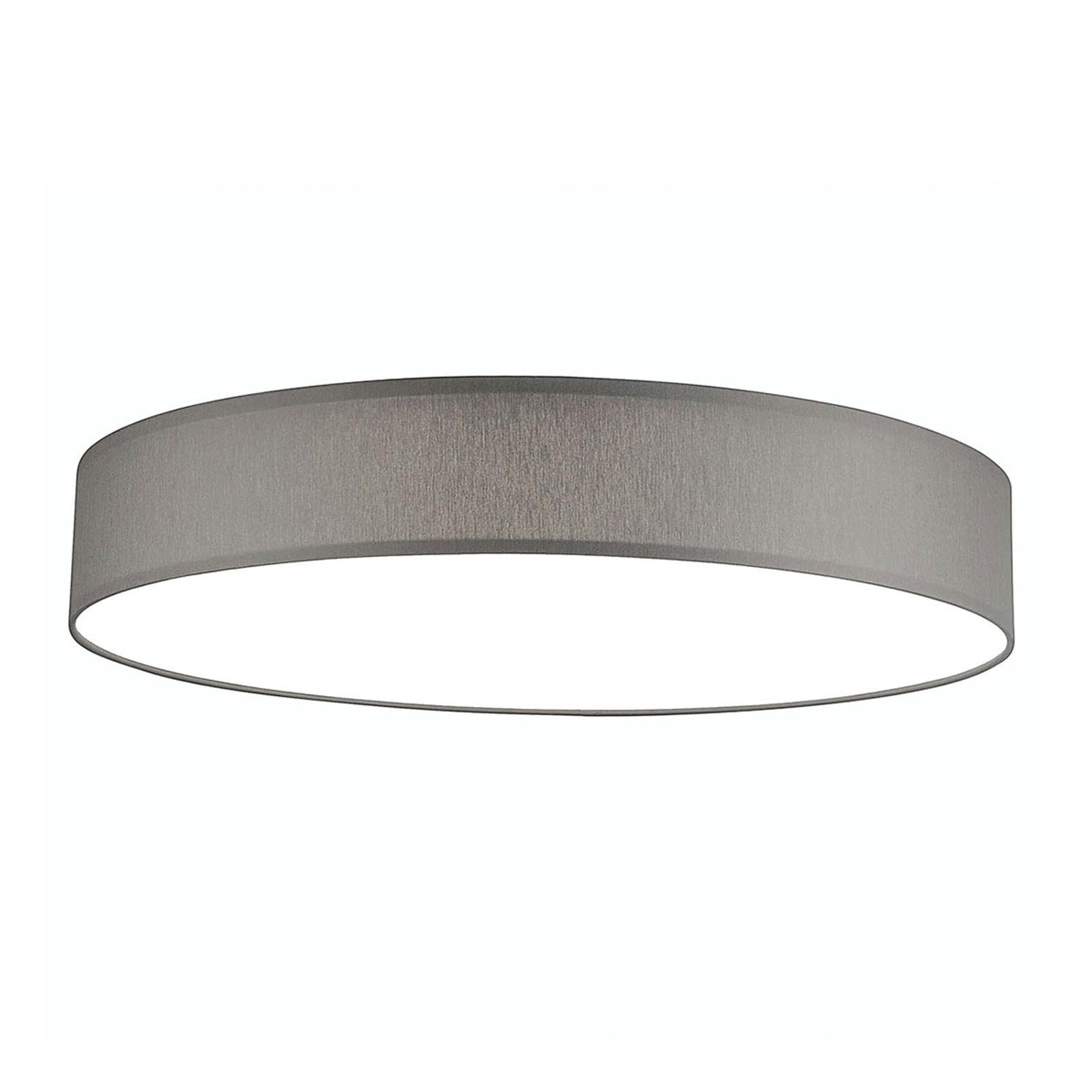 Plafonnier LED Luno XL 3000K 60W gris clair
