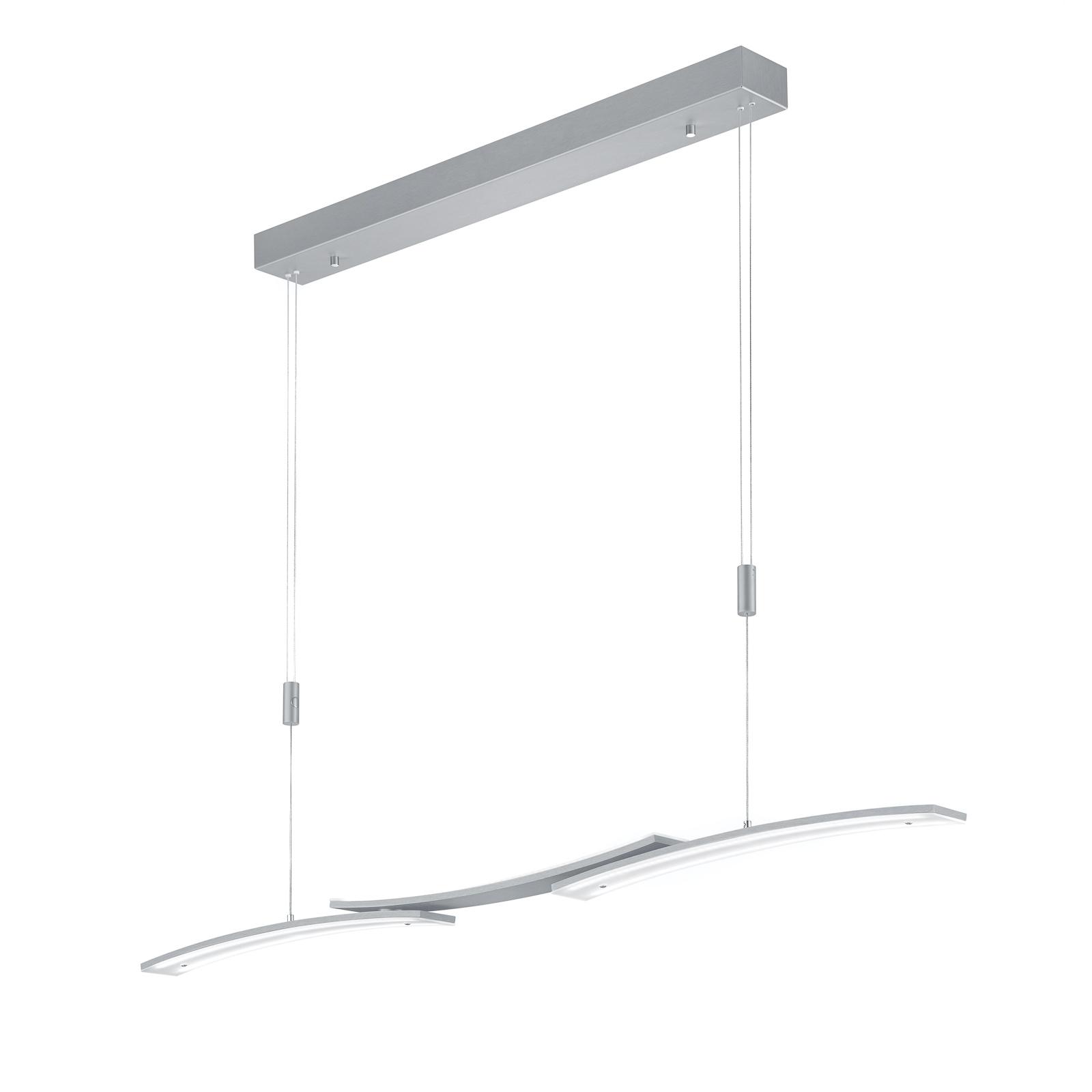 BANKAMP 2138/3-92 LED-Hängeleuchte, nickel matt