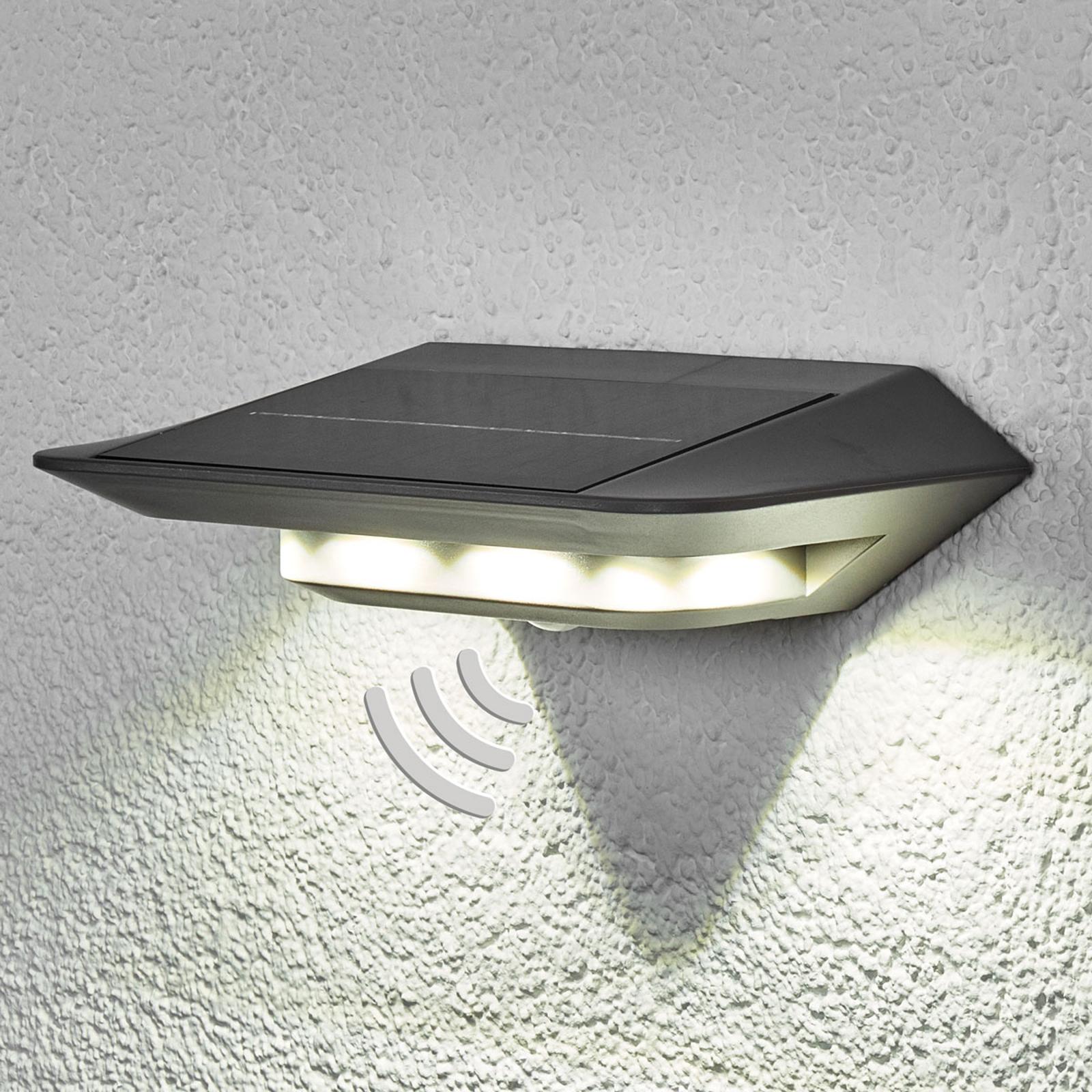 Solar-Wandleuchte Ghost LED mit Bewegungsmelder