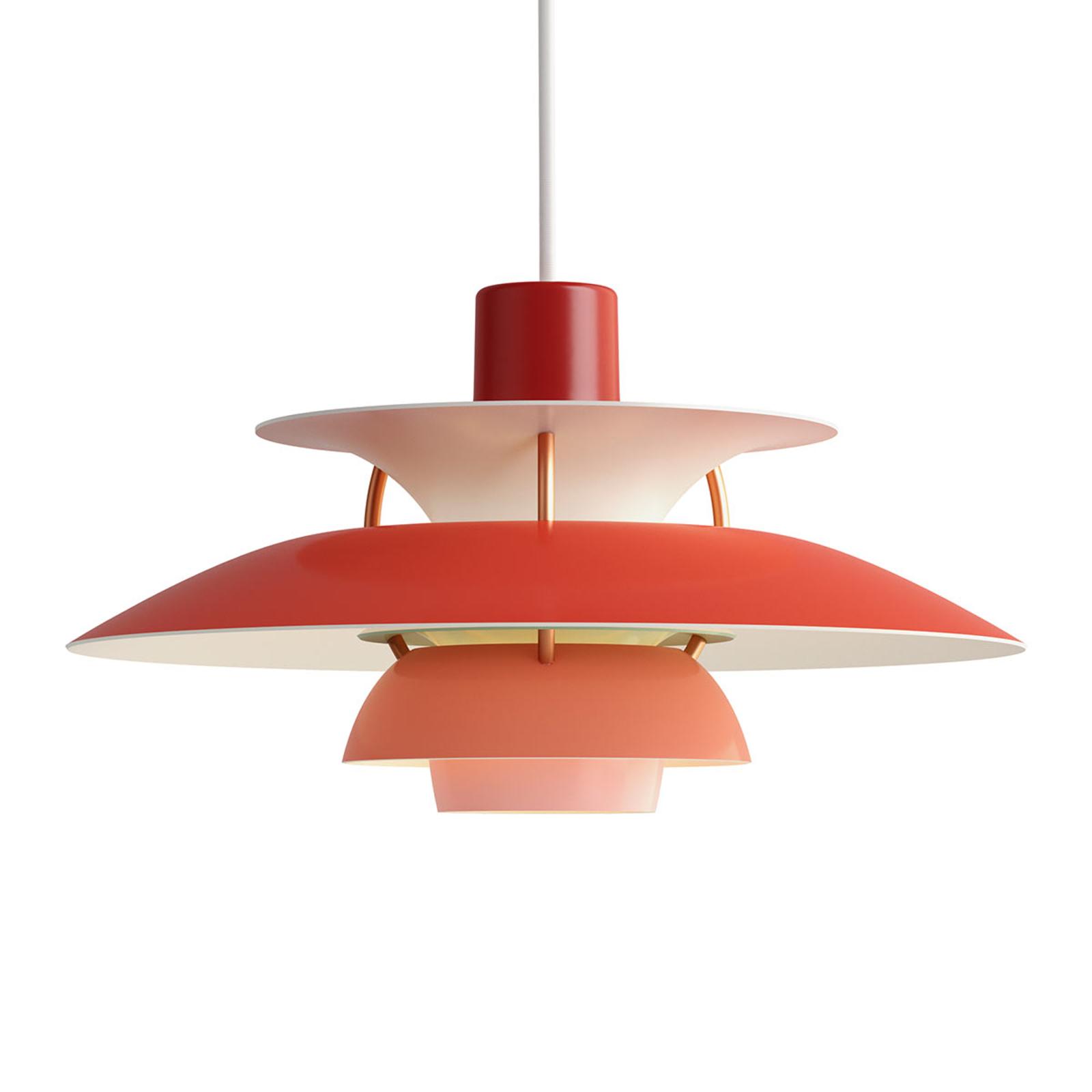 PH 5 Mini - Deense designer hanglamp, rood