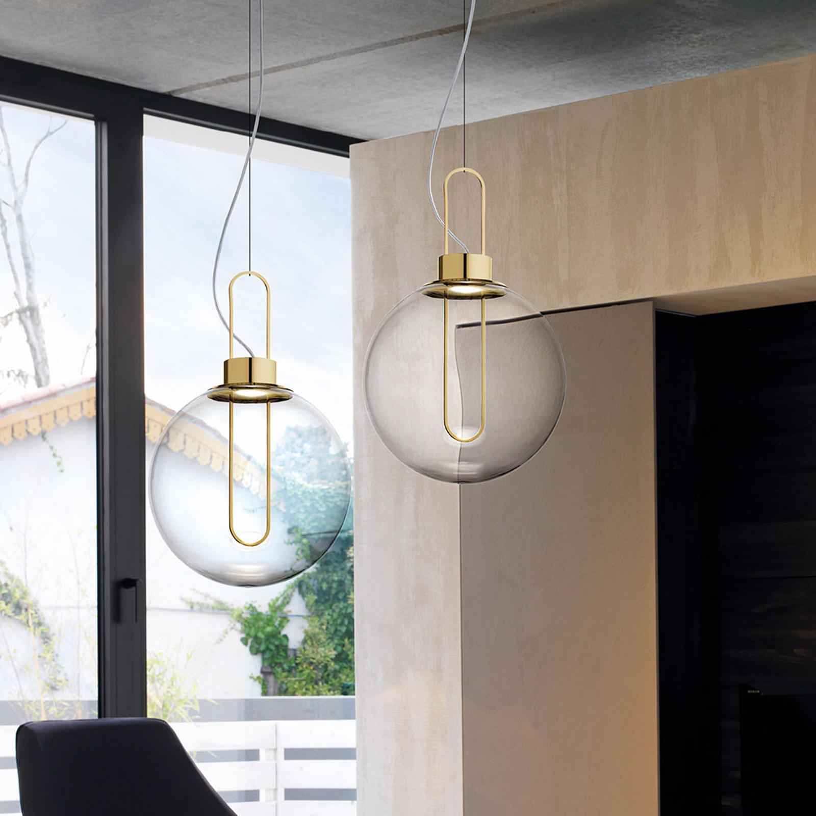 Modo Luce Orb LED hanglamp, messing, Ø 40 cm