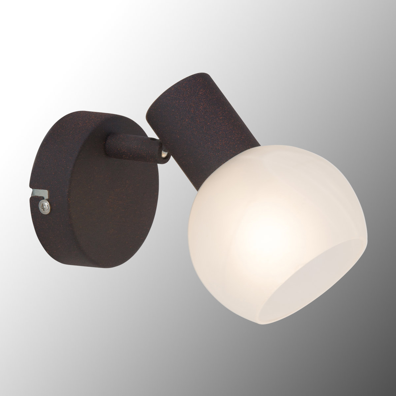 Kontrastująca lampa ścienna Gabon