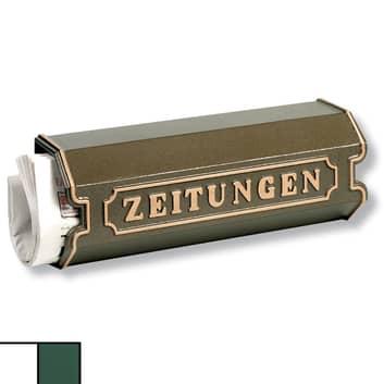 Aluguss Zeitungsbox 1890