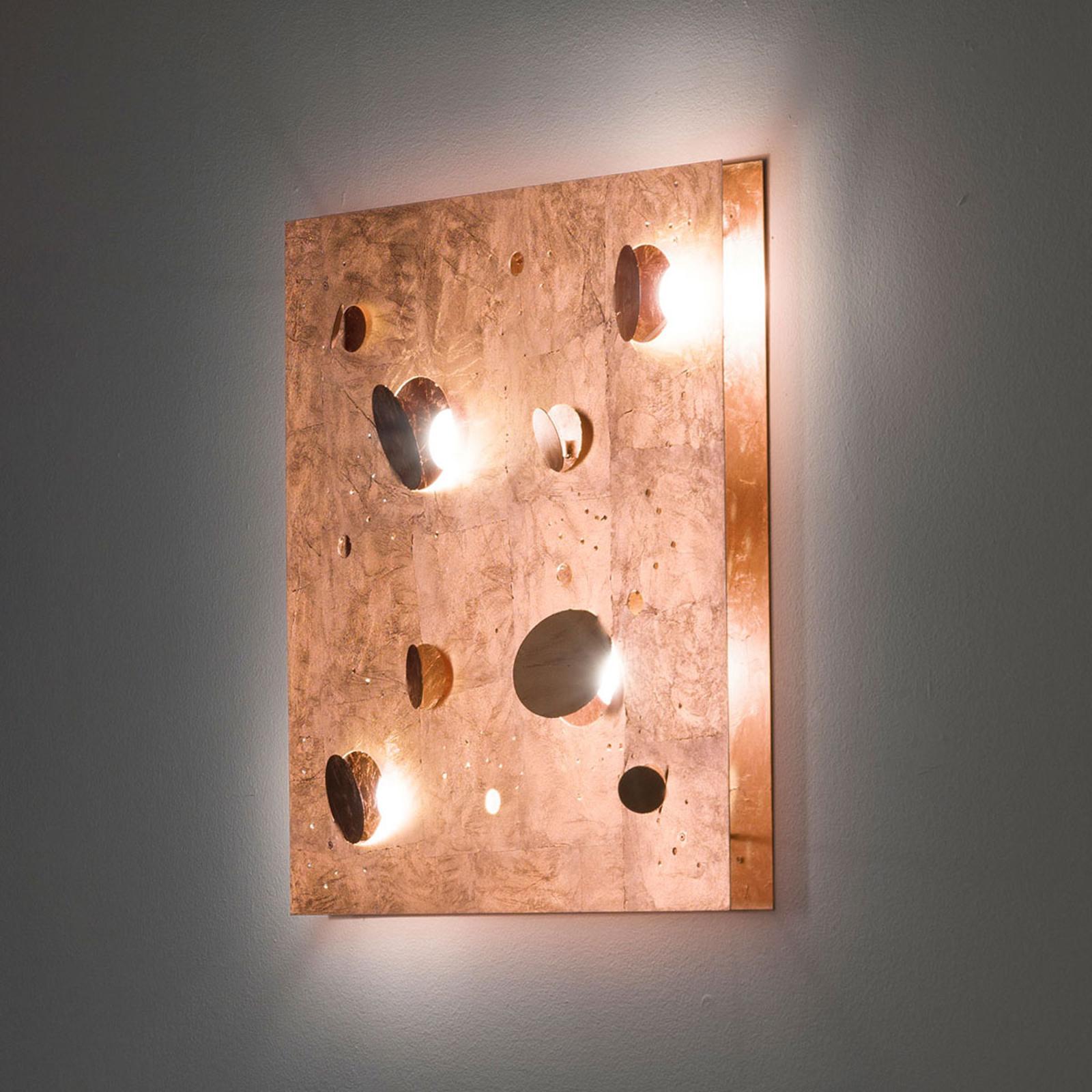 Knikerboker Buchi applique 60x60cm feuille cuivre
