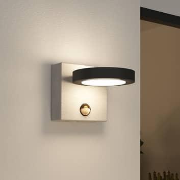 Lucande Belna utendørs LED-vegglampe betong sensor