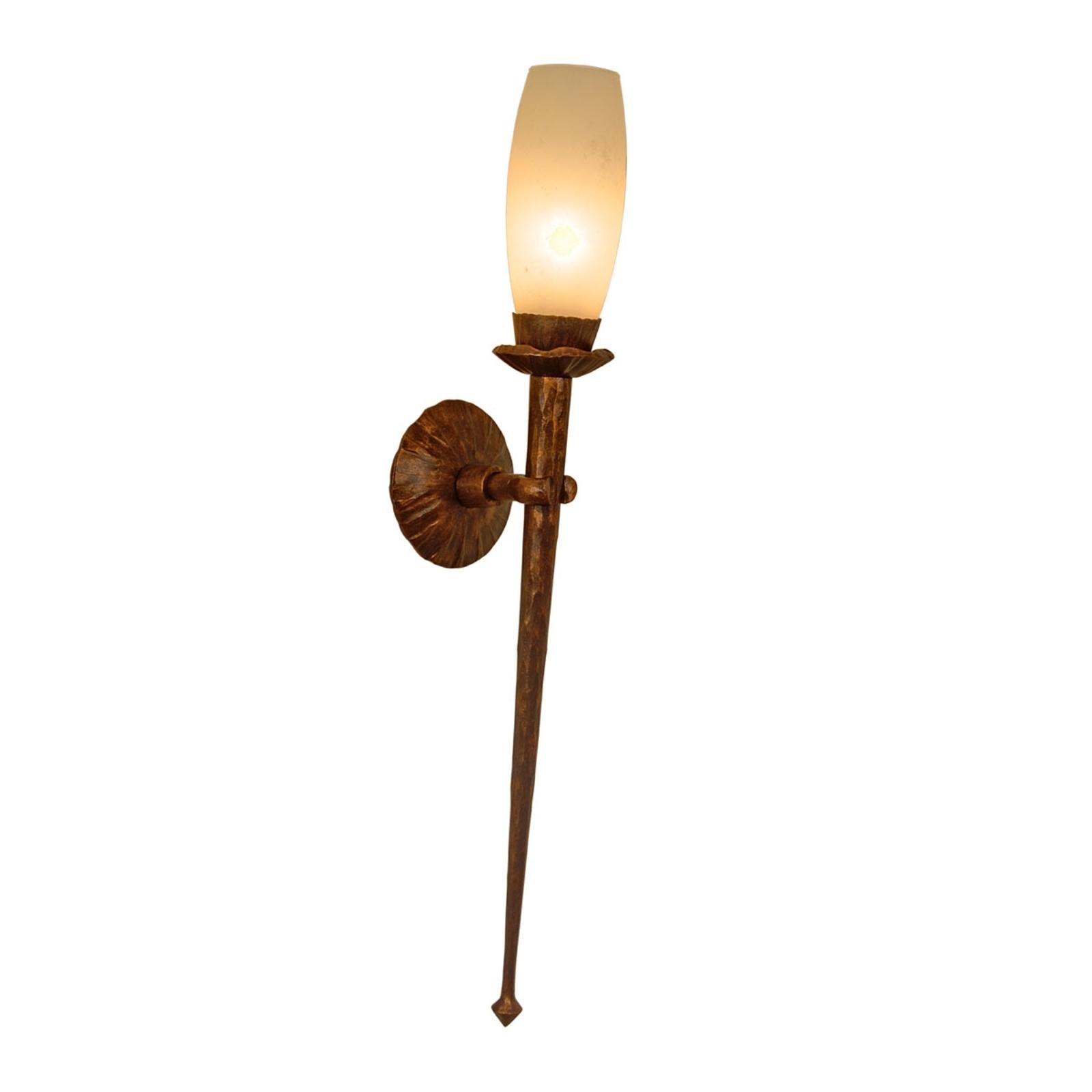 Gesmede wandlamp CHATEAU