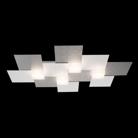 GROSSMANN Creo LED-taklampa 4 lampor 55x38,5 cm