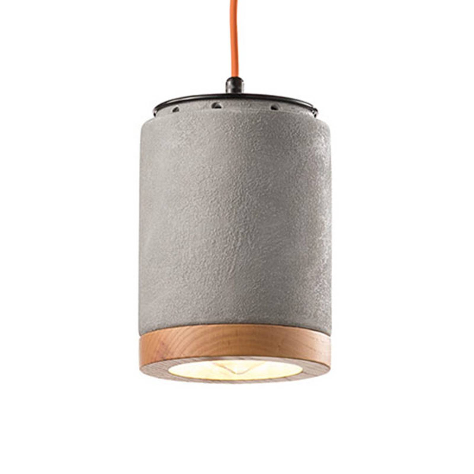 Hanglamp C988 in Scandinavische stijl cement