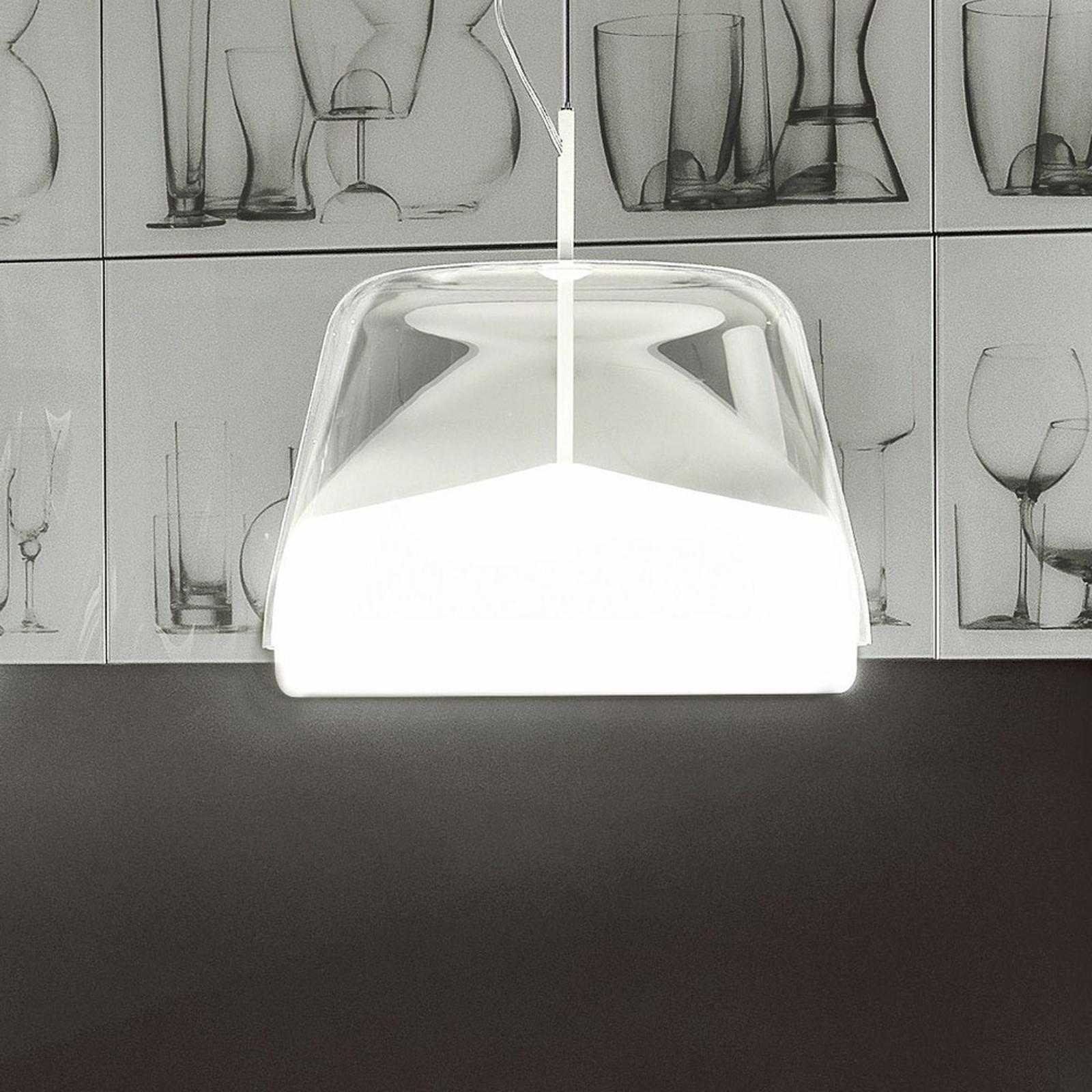 Prandina La Belle S5 hængelampe, hvid