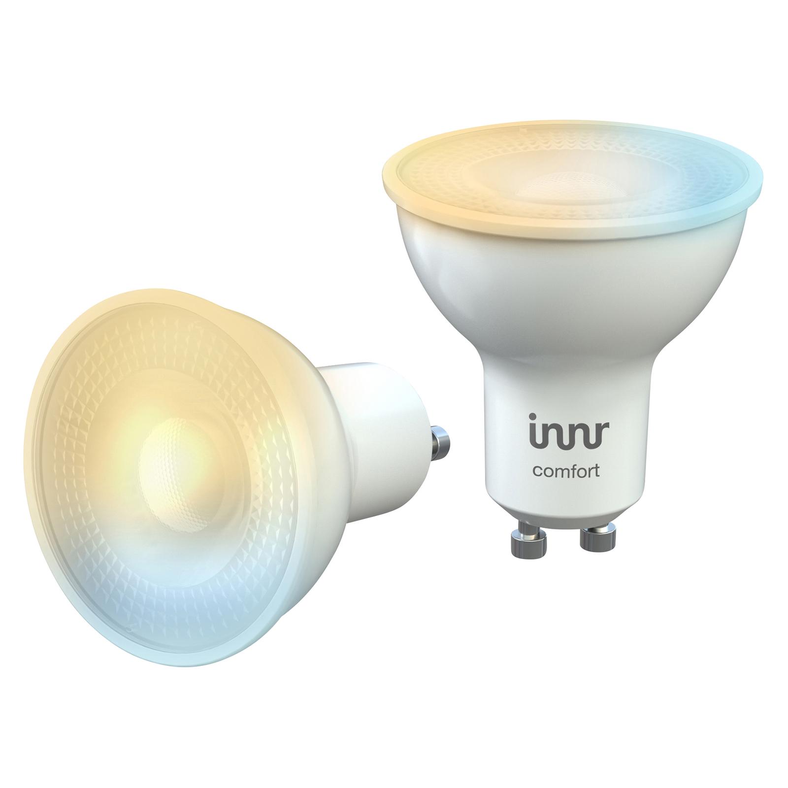 Innr spot LED GU10 5W 350lm, 2200-5000K, 2 szt.