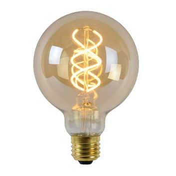 Żarówka LED E27 globe 4W 2200K bursztyn czujnik