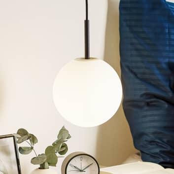 Menu TR Bulb sospensione LED 1 luce nero/opale