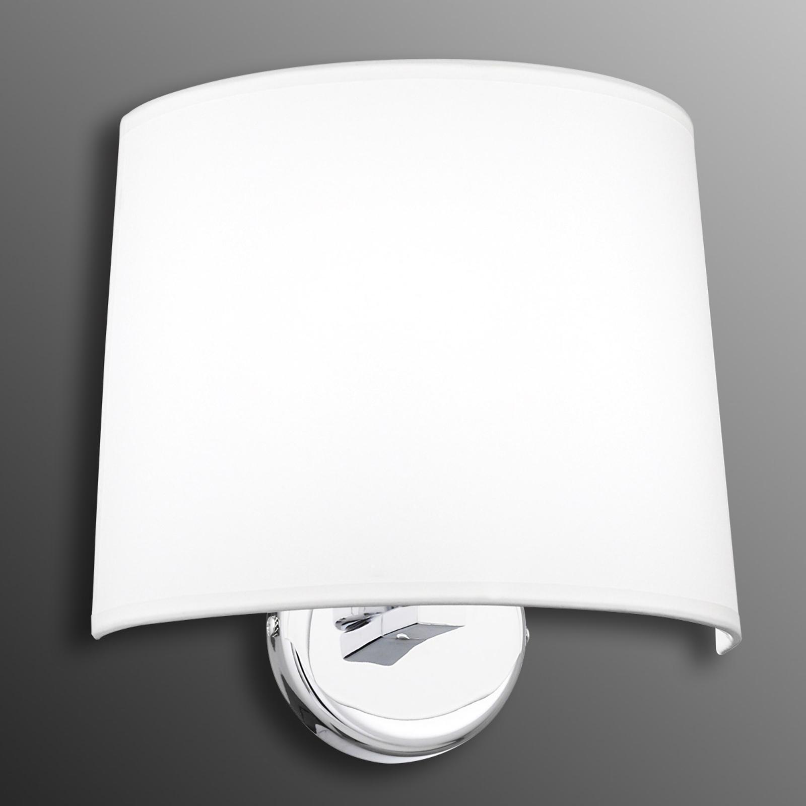 Halfronde wandlamp Silje