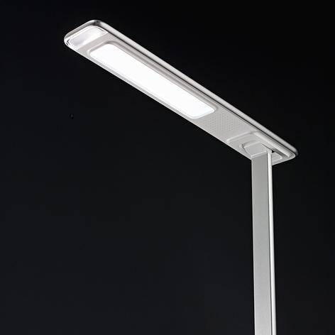 LED-Schreibtischlampe Ivo m. induktiver Ladefläche