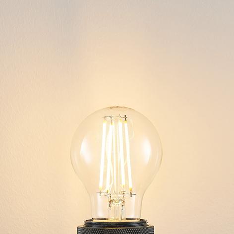 LED žárovka E27 A60 6,5W 2.700K čirá 3 st.