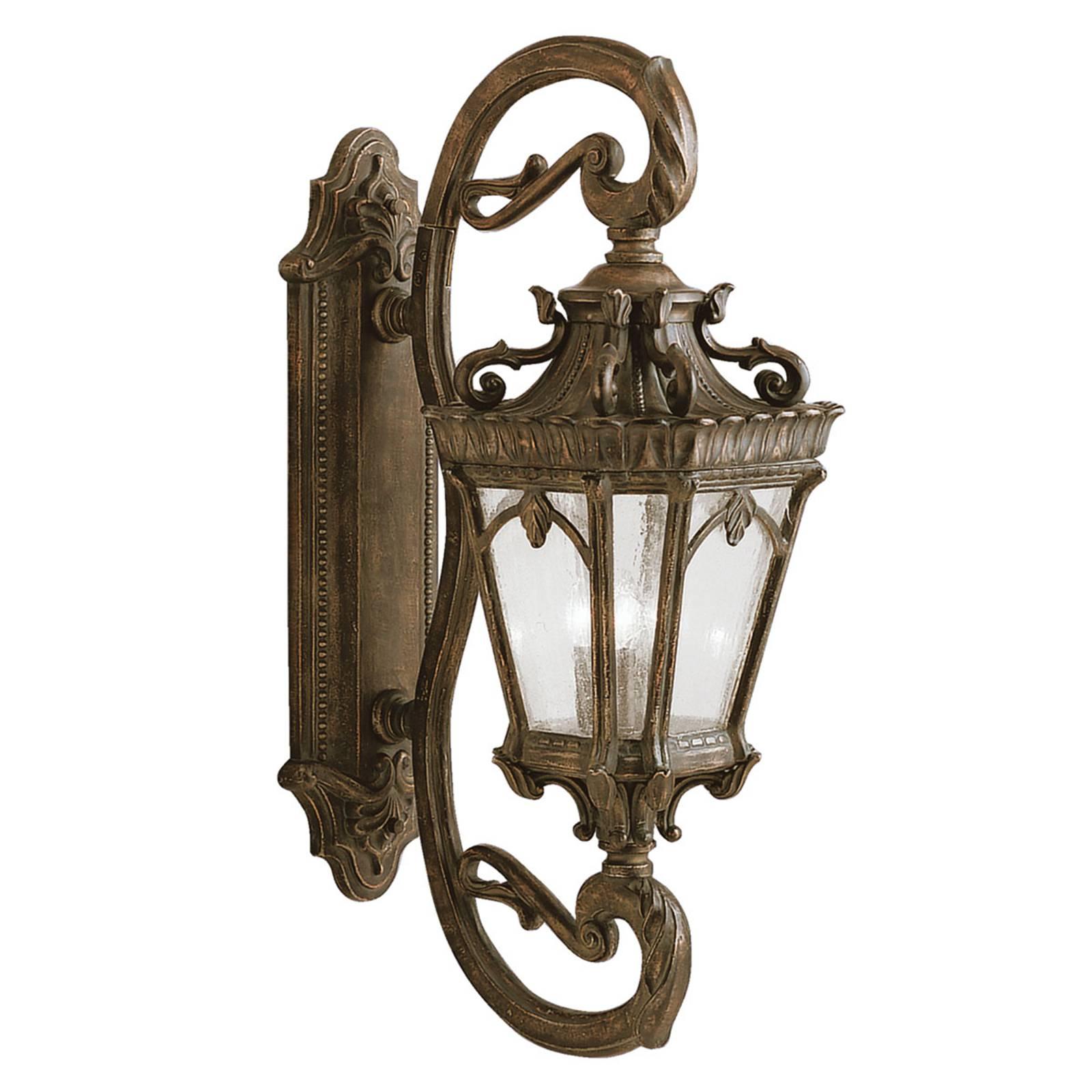 Klassiek antiek ontworpen buitenwandlamp Tournai