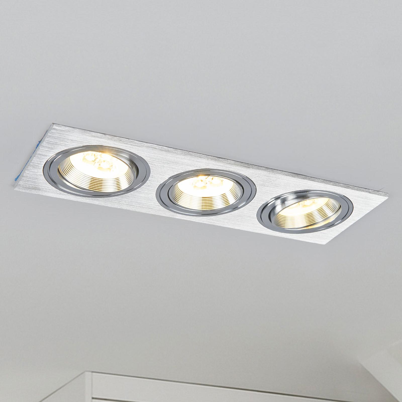 Acquista Lampada a incasso MINAR LED, alluminio pressofuso